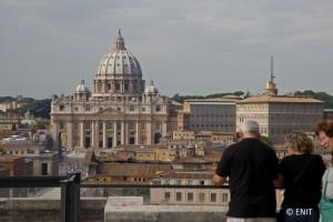 Roma - Vista da Castel Sant'Angelo