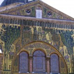 2006.04.23 118H Damaskus O.--Moschee Zentrum Mosaiken TOP