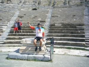 Fahrrad Tour Türkei Gümbet-Ören